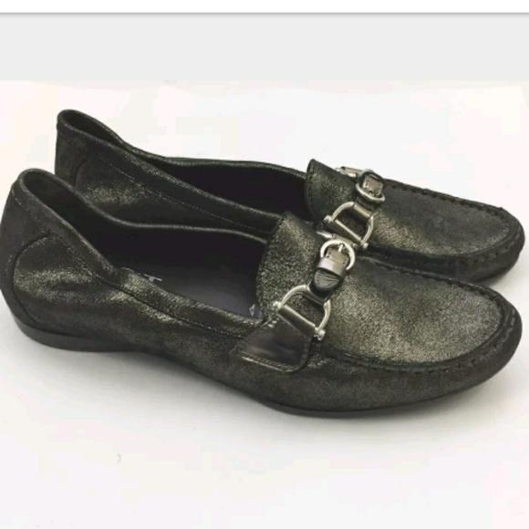 Agl Shoes   225 Agl Metallic Loafers Sz Us 1 Eu 41   Poshmark